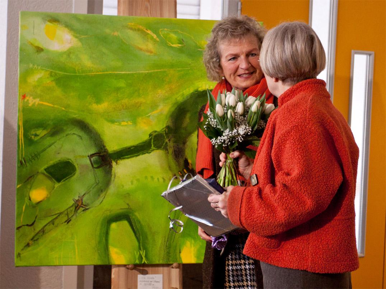 Clemens/Malyska: Impressionen der Ausstellung
