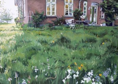 Frühling in Bissee 2021 80x120cm