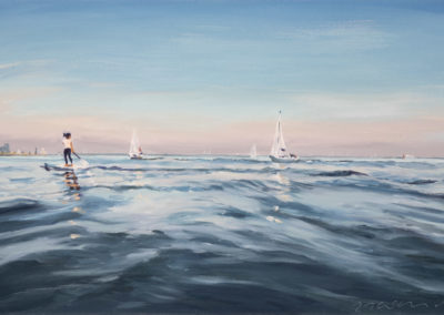 Auf dem Wasser 2021 40x60cm