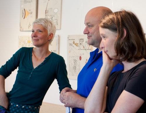 Katrin Göldner, Kai Niebuhr und Katharina Kierzek