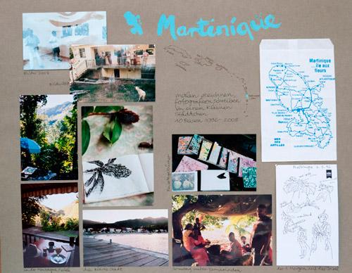 Barbara Bräuers Reisen nach Martinique - Bilder einer Ausstellung