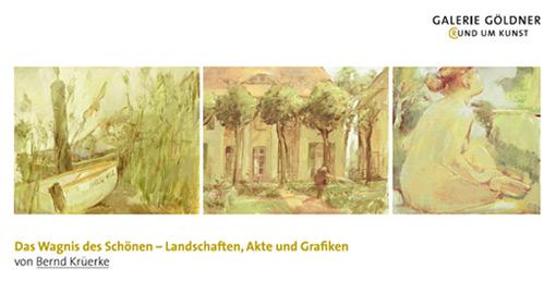 Ausstellungseröffnung am 17.März  Bernd Krüerke
