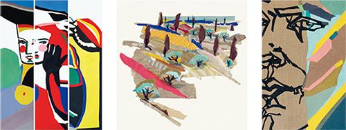 Ausstellung Uliane Borchert: Farbe, Figur + Fläche