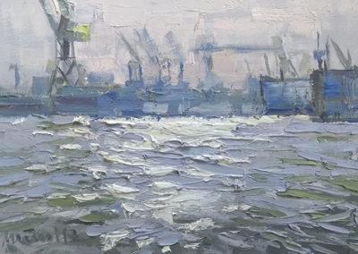 Hafenlicht, 20x30 cm