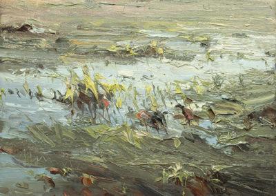 Salzwiesen, 24x30 cm
