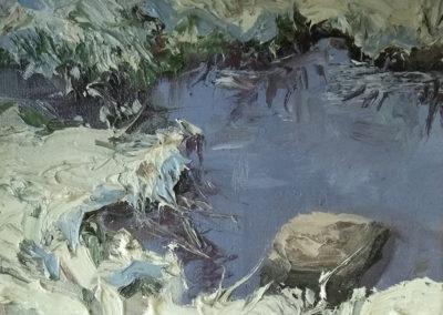 24x60_Tümpel-im-Winter_ÖlaufLW_Dyptichon_ungerahmt_2016_1500€_Teil2