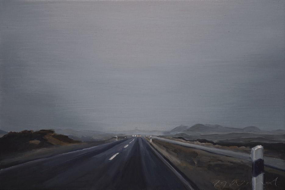 Sylt im Nebel 2021 30x45cm