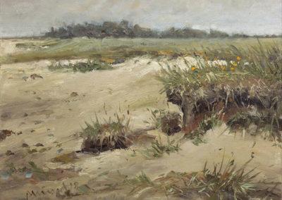Mathias Meinel: Strand bei Goting II, 40 x 50 cm