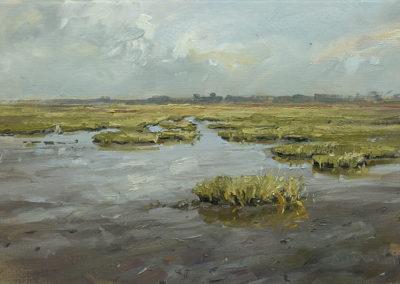 Ufer bei Schobüll, 40x60 cm