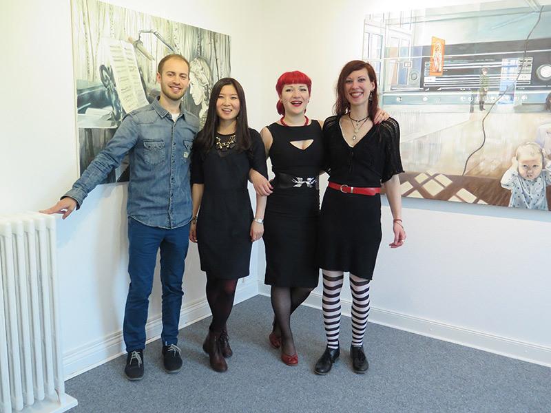 Maxim Brandt, Svetlana Grigorieva, Mascha Livanskaia und Sutin Zhang