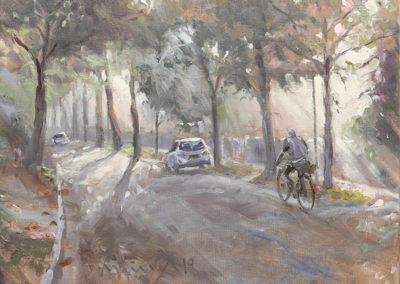 Mathias Meinel, Herbstmorgen, 40 x 50 cm