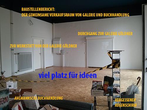Galerie Göldner und Ahlmannsche Buchhandlung in Bordesholm