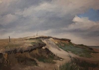 Lars Möller, Gotinger Kliff, Öl auf Leinwand, ca. 60 x 80 cm